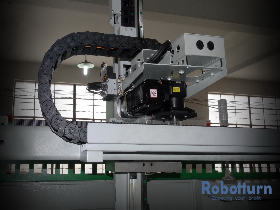 Automation with flexycell - Robotized CNC lathes, Robotturn